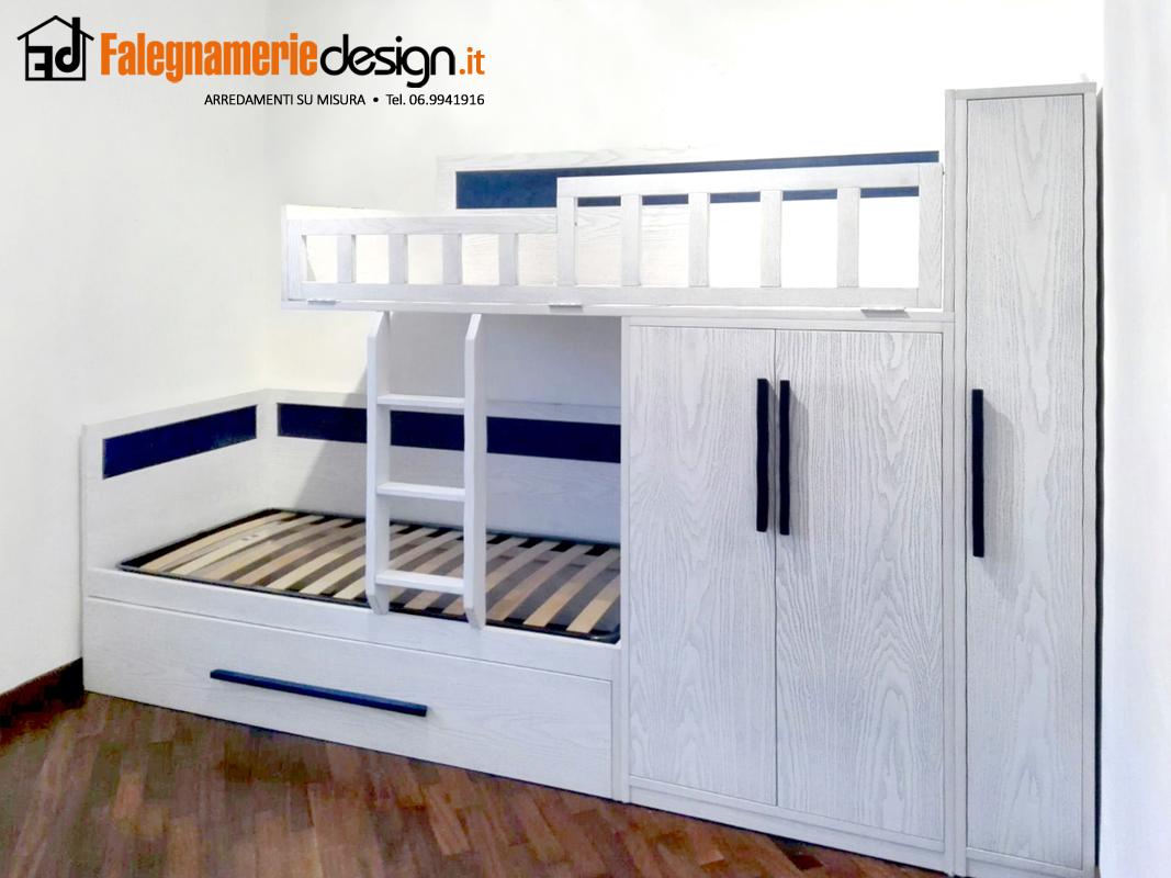Letti a soppalco per ragazzi roma design casa creativa e for Letto con soppalco