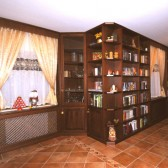 libreria classica su misura