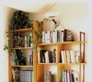 libreria in legno roma