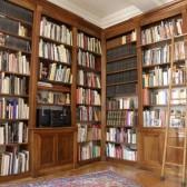 libreria in noce