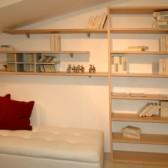 libreria per soffitta