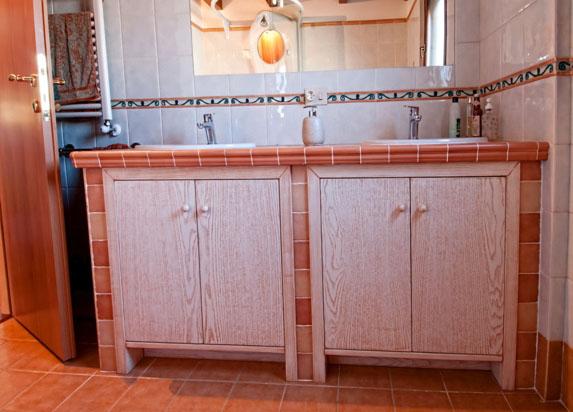 Sportelli in legno per cucine in muratura top bagno ante - Top bagno su misura ...