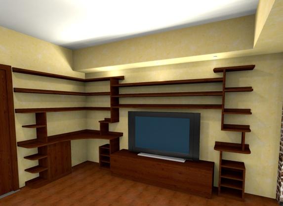 Foto pareti attrezzate su misura falegnamerie design - Pareti attrezzate design ...