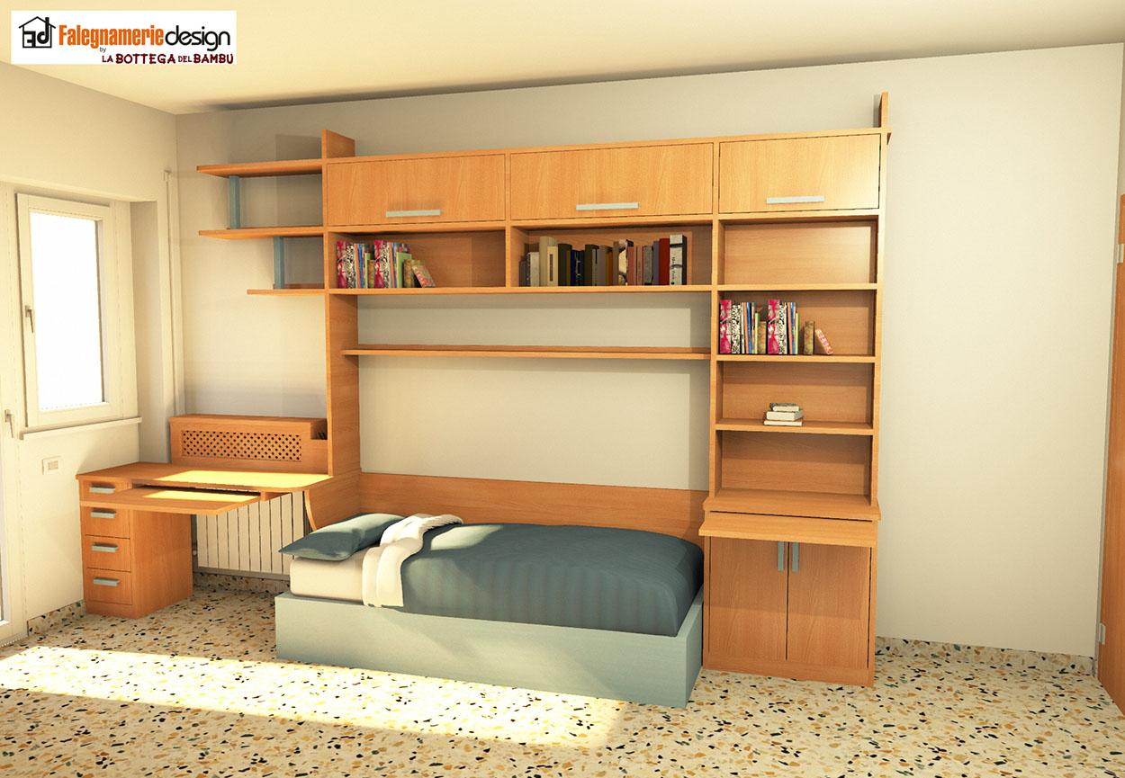 Progettazione camerette arredamenti e mobili su misura roma - Progettazione mobili su misura ...