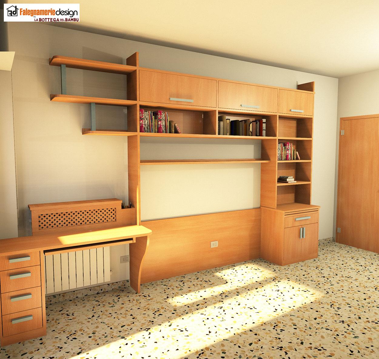 Progettazione camerette su misura arredamenti e mobili - Progettazione mobili su misura ...