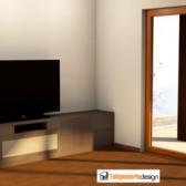 progetto 3d soggiorno