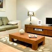 mobili legno grezzo porta tv