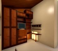 arredo soggiorno in legno