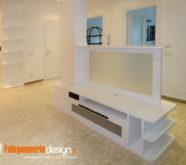 soggiorno legno mobile tv centro stanza
