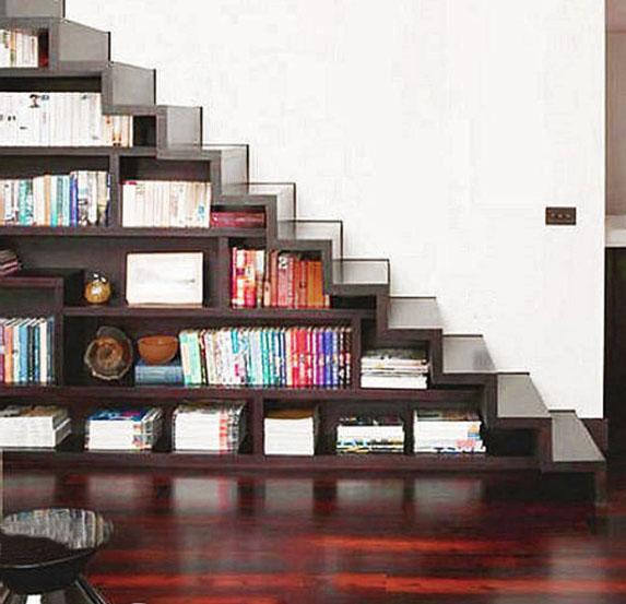 Libreria soppalco idee creative e innovative sulla casa - Libreria a scala ikea ...