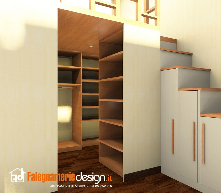 Soppalco con stanza cabina sottostante arredamenti e for Falegnamerie design