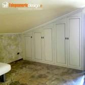 sportelli a gradazione armadio mansarda