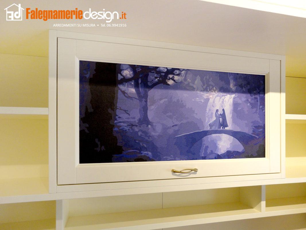 Stampa su anta armadio in legno arredamenti e mobili su for Falegnamerie design