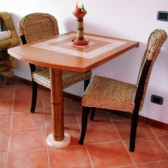 tavolo maiolicato