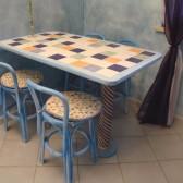 tavoli personalizzati in legno
