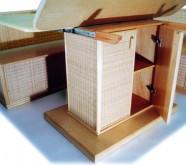 tavoli apribili in legno roma