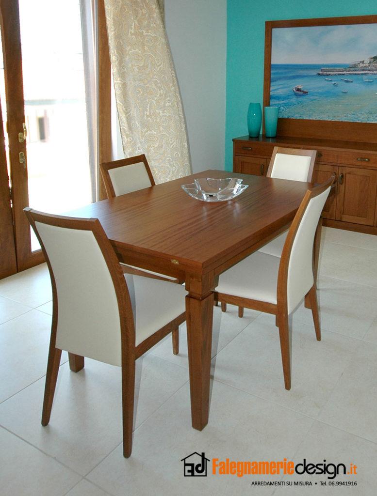 Foto tavoli in legno su misura falegnamerie design - Tavoli su misura roma ...