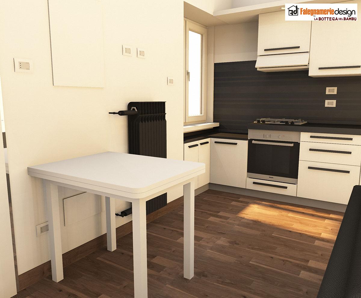 Tavolo per cucina arredamenti e mobili su misura roma for Falegnamerie design