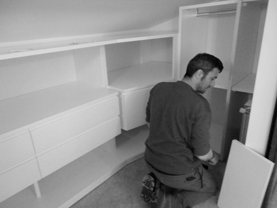 3 artigiani mobili su misura arredamenti e mobili su - Mobili su misura roma ...