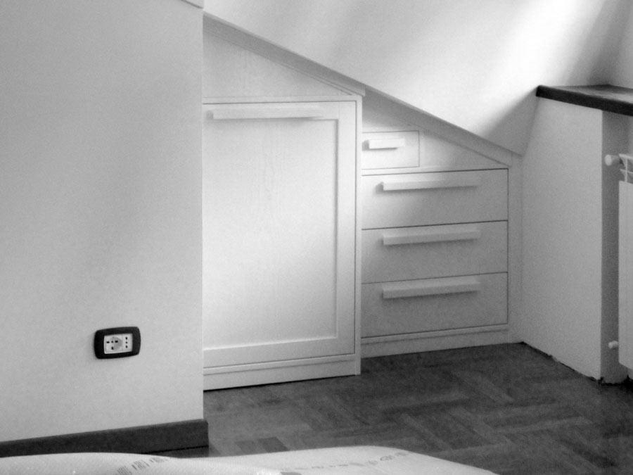 9 installazione mobili per la mansarda