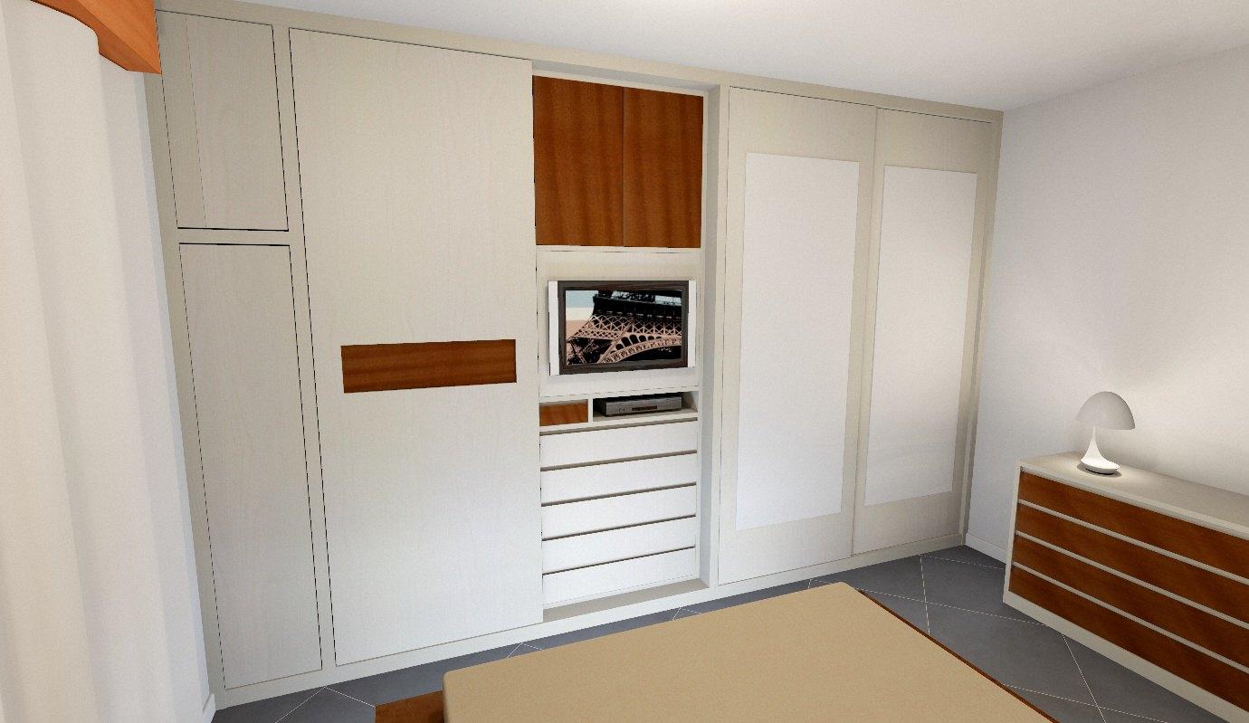 Foto camere da letto su misura falegnamerie design - Camere letto design ...