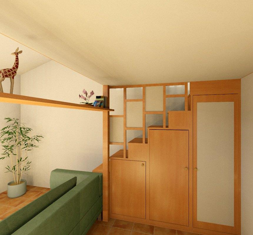 Foto soppalchi in legno - Falegnamerie Design