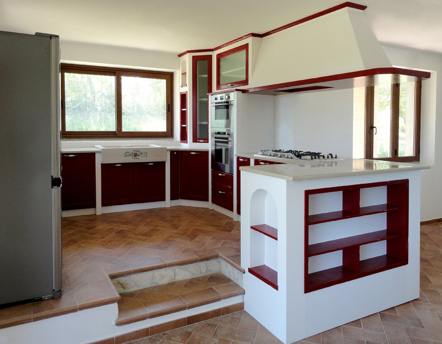 Pin cucine sardegna case legno prefabbricate muratura genuardis portal on pinterest - Ikea cucine in muratura ...