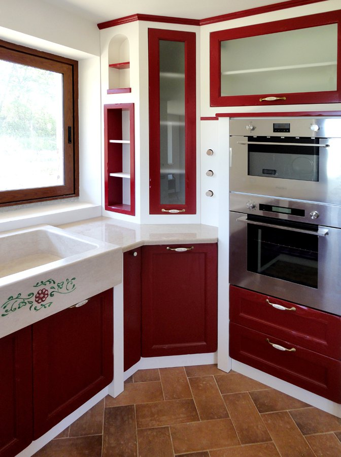 Cucine su misura roma risparmia oltre il 20 per una for Cucine muratura immagini