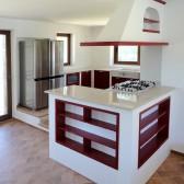 cucina in muratura su misura
