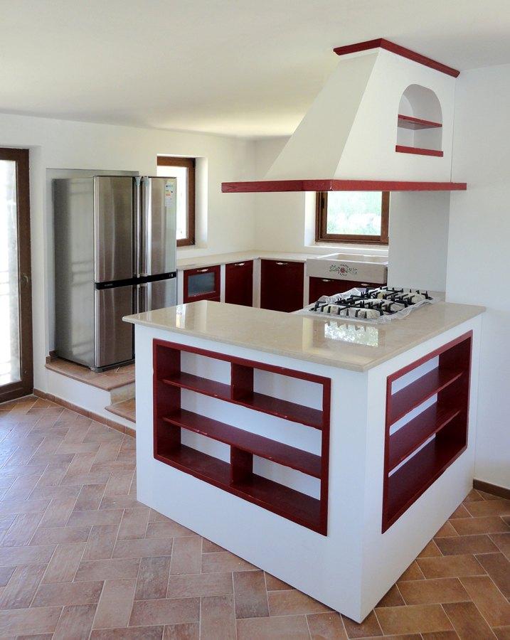 Cucine in muratura roma su misura falegnamerie design - Cucine su misura roma ...