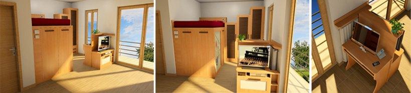 mobili a misura di casa