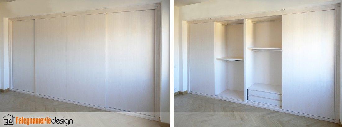 Armadi A Muro Con Ante Scorrevoli ~ Design casa creativa e mobili ispiratori