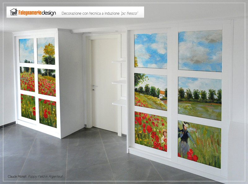 mobili personalizzati con fotografie o decorazioni a mano