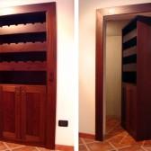armadio divisorio in legno