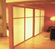 pareti divisorie con plexiglass