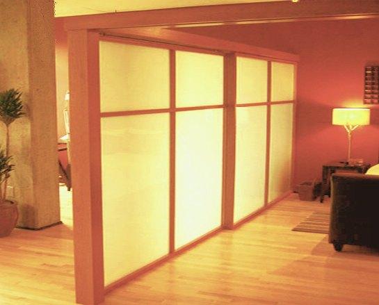 Pareti In Legno Divisorie : Foto pareti divisorie in legno vetro e plexiglass su misura