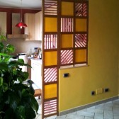 pareti divisorie su misura legno vetro plexiglass