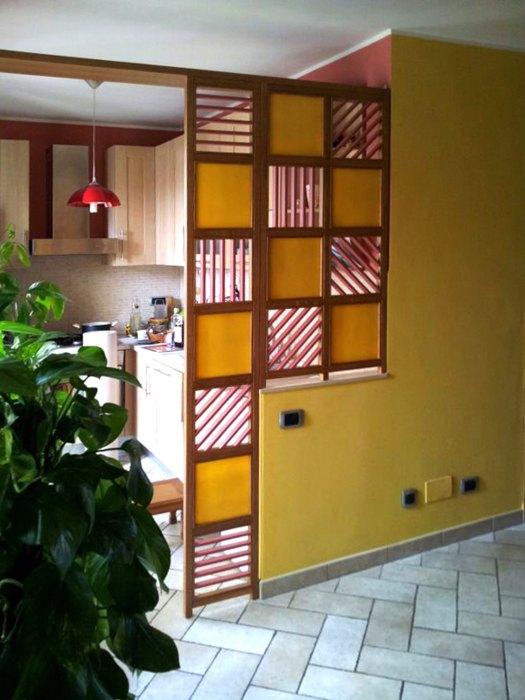 Parete In Vetro E Legno : Pareti divisorie roma in legno su misura per i vostri spazi