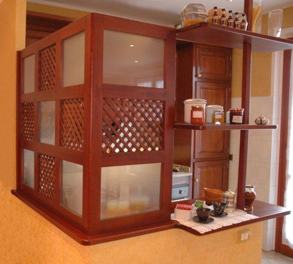 Parete In Vetro E Legno : Foto pareti divisorie in legno vetro e plexiglass su misura