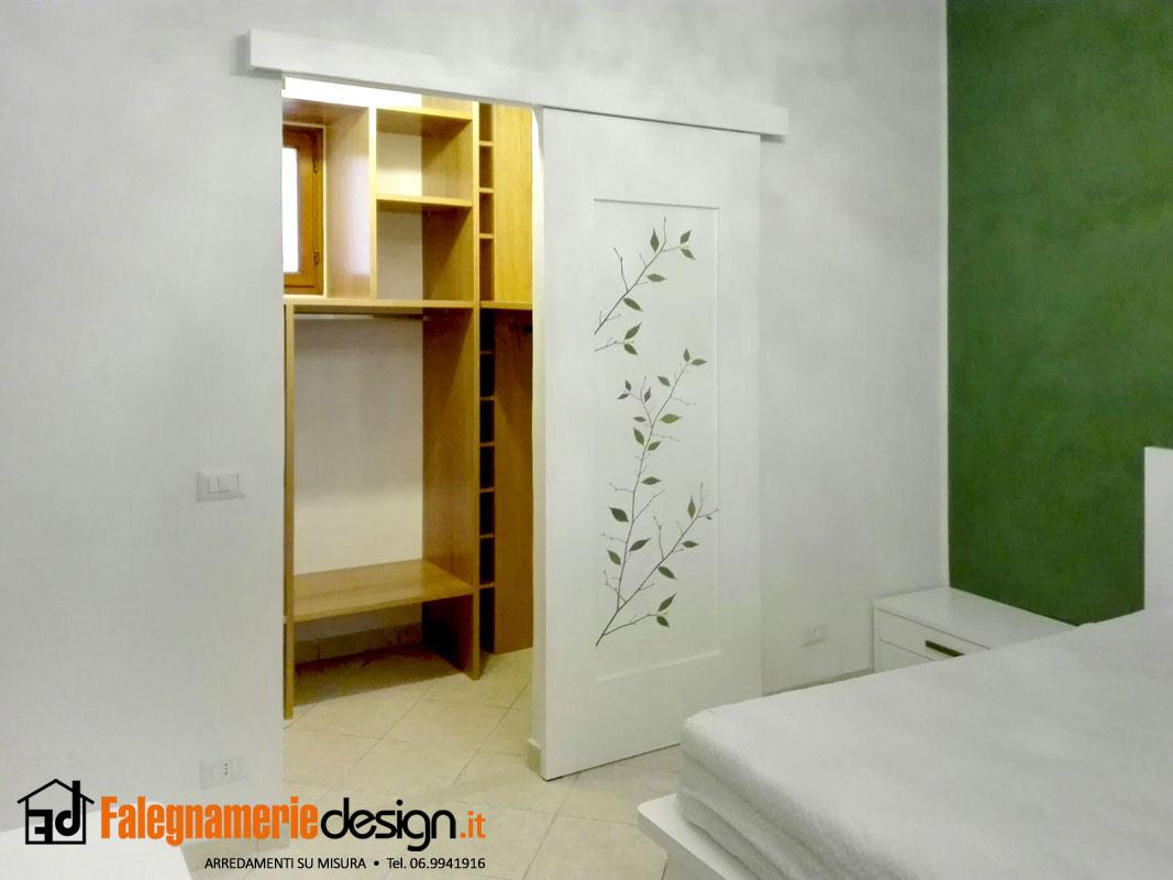 Porta divisoria cabina armadio aperta arredamenti e - Porta cabina armadio ...