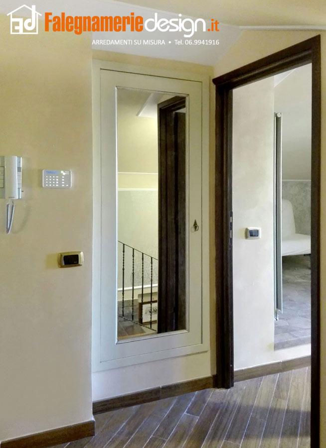Porta in legno con specchio arredamenti e mobili su - Prezzo specchio su misura ...