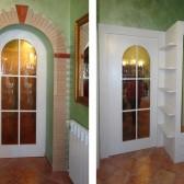 porte divisorie su misura legno e vetro