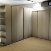 armadio bifacciale