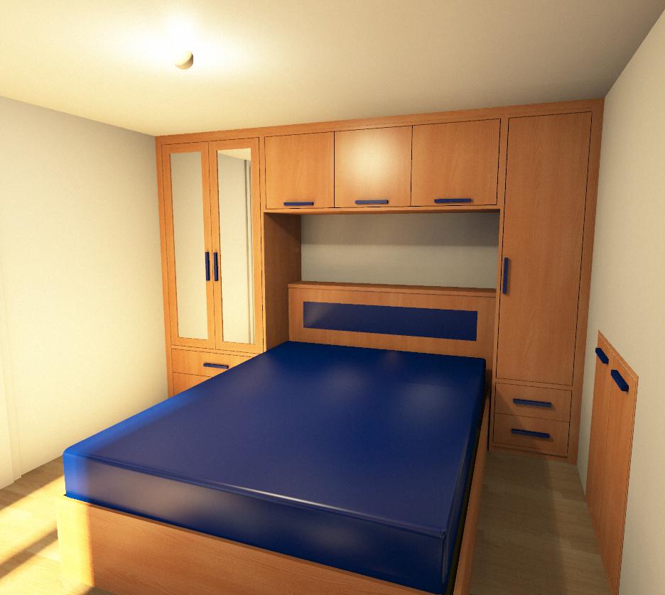 Camere da letto roma tutto in vero legno su misura - Camera da letto a ponte ...
