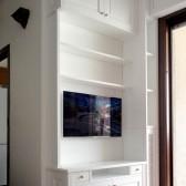 mobili soggiorno in legno massello