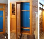 porta divisoria in legno roma