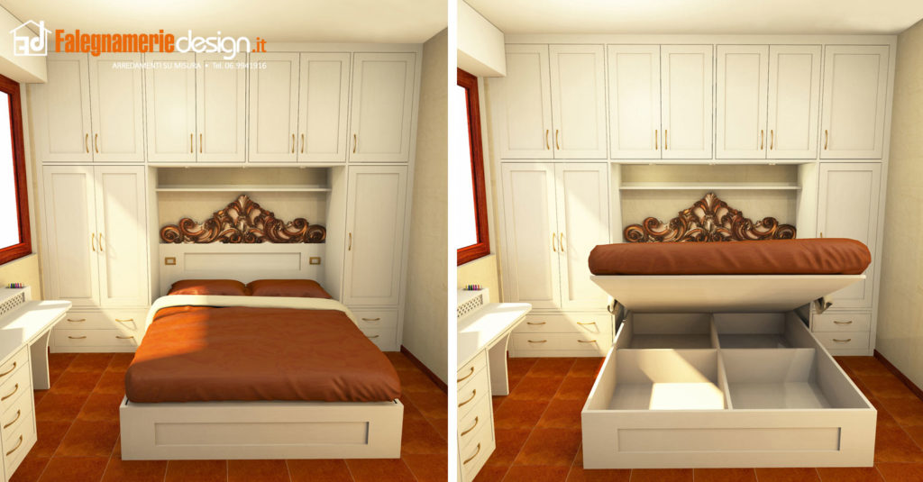 camere da letto roma. tutto in vero legno su misura - Camera Da Letto Su Misura