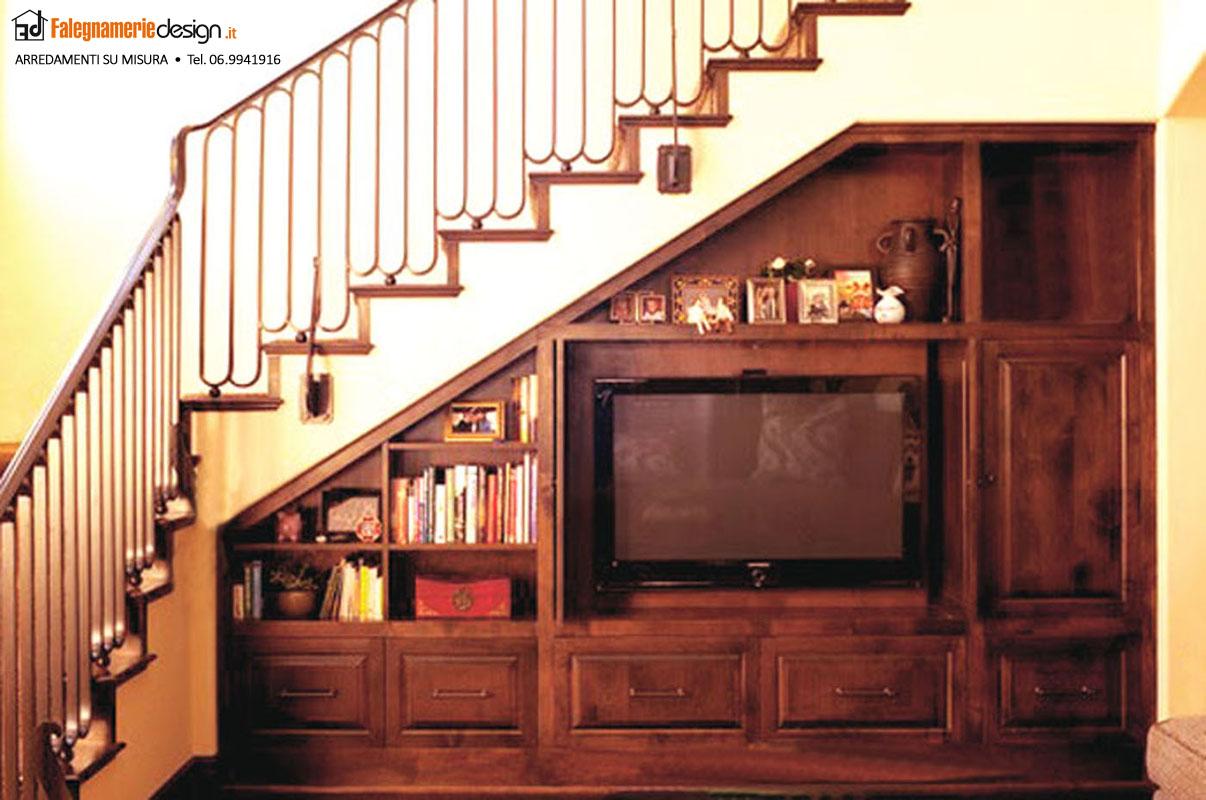 Mobili al centimetro il vero legno a prezzi incredibili - Mobili sottoscala in legno ...