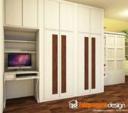 scrivania camera da letto in legno
