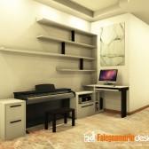 scrivania falegname legno